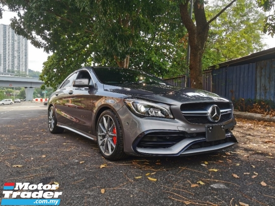 2017 MERCEDES-BENZ CLA 45 JAPAN SPEC