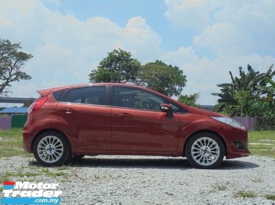 2013 FORD FIESTA 1.5 SPORT Facelift TipTOP Cond LikeNEW