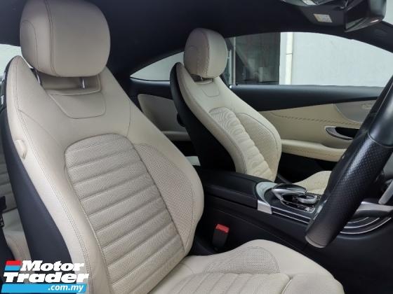 2017 MERCEDES-BENZ C-CLASS C300 AMG Coupe UK Spec Unreg