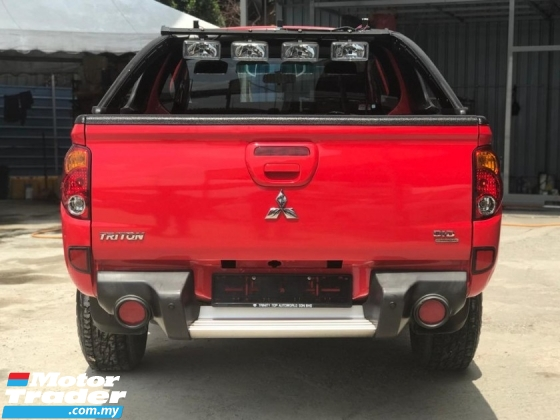 2009 MITSUBISHI TRITON 2.5 AT DOUBLE CAB WITH FACELIFT