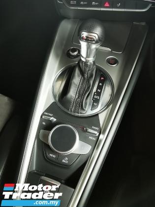 2017 AUDI TT 2.0 S-Line Quattro TFSi