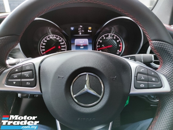 2018 MERCEDES-BENZ GLC 43 AMG Burmester -PanRoof -360 Cam -Low Mileage