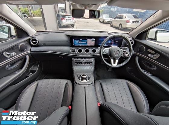 2019 MERCEDES-BENZ E-CLASS E200 SPORTSTYLE AVANT Wide Screen Cockpit Facelift