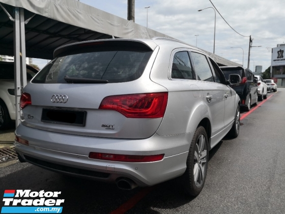 2013 AUDI Q7 3.0 TFSI Petrol New facelift TRUE YEAR MADE 2013 CBU Audi Malaysia (( FREE 2 YEARS WARRANTY )) 2014