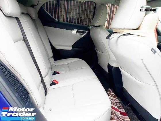 2012 LEXUS CT200H 1.8 Luxury (A) F-SPORT BODYKITS HYBRID