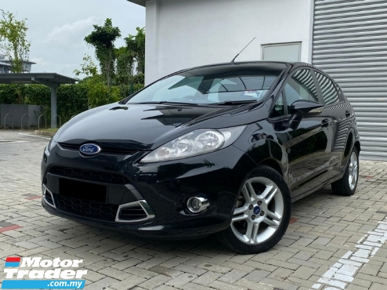 2012 FORD FIESTA 1.6 (A) SPORT FULL SPEC SERVICE ON TIME LOW MILEAG