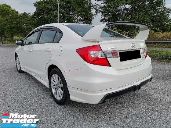 2012 HONDA CIVIC 1.8 S (A) i-VTEC Sedan MUGEN RR BODYKIT WELL MAINTAIN TIP TOP CONDITION