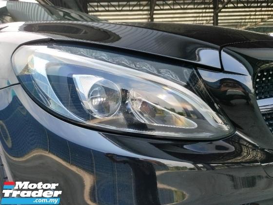 2017 MERCEDES-BENZ C-CLASS C300 Coupe AMG Line UK Unregister