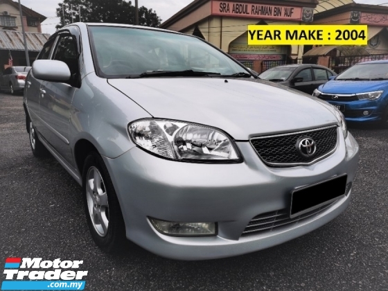 2004 TOYOTA VIOS 1.5 (A) 1 OWNER - PERFECT LIKE NEW