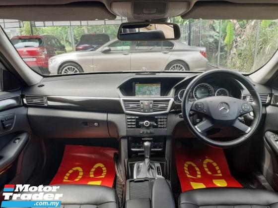 2010 MERCEDES-BENZ E-CLASS Mercedes Benz E200 CGi BlueEFFi PERFECT WARRANTY
