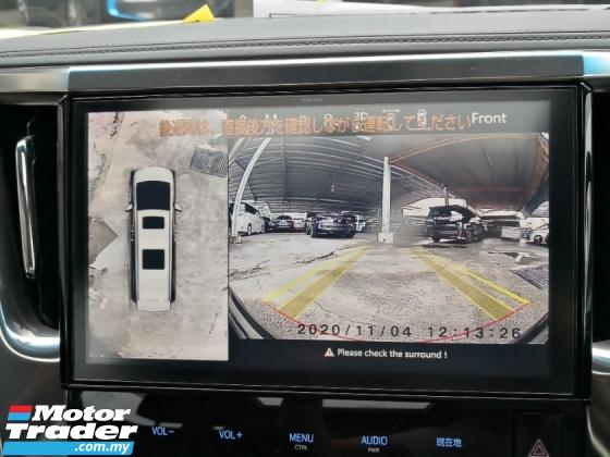 2018 TOYOTA VELLFIRE 2.5 Z INC SST LOW MILEAGE Pre Crash Lane Keeping Assist 360 Cameras Power Boot Unreg