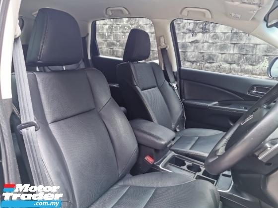 2017 HONDA CR-V 2.4 I-VTEC SUV (A) FULL LEATHER SEAT FULL SERVICE RECORD