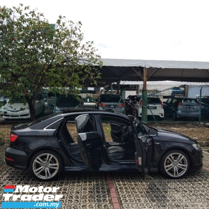 2016 AUDI A3 Audi A3 TFSI 1.8TURBO YEAR:2016 SELLING PRICE RM118,888.88~{O.T.R} 100% Full included~No other charg