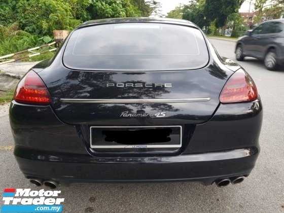 2011 PORSCHE PANAMERA S 4.8 V8 DIRECT OWNER 4 NEW TYRE WEEKEND CAR