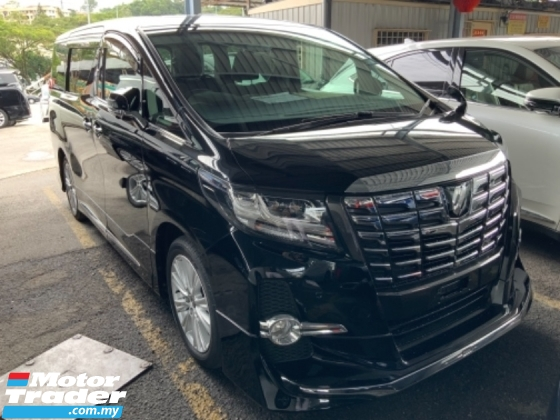 2017 TOYOTA ALPHARD 2.5 S Modellista Bodykit surround camera power boot 7 seaters 2 power doors push start unregistered