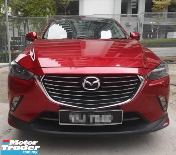 2016 MAZDA CX-3 2.0 SKYACTIV AT 2WD CBU SUV(SUNROOF)(LOW MILEAGE)