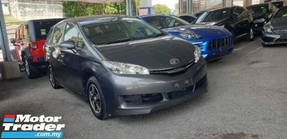 2017 TOYOTA WISH 1.8 X NO HIDDEN CHARGES