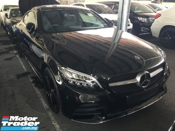 2019 MERCEDES-BENZ C-CLASS c300 Coupe 2.0 AMG Coupe New Facelift LIKE NEW