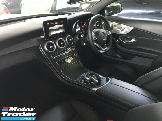 2017 MERCEDES-BENZ C-CLASS C200 AMG Coupe Burmester System P-Roof Like New 😊