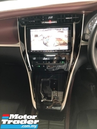 2018 TOYOTA HARRIER 2.0 New Facelift , Panoramic Roof , Power Boot ,