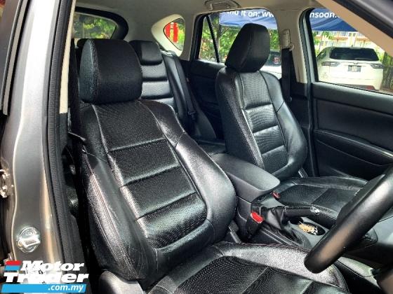 2014 MAZDA CX-5 2.0 SKYACTIV-G GLS PREMIUM 4WD(AUTO) FREE MOTORSIKAL BARU+CASHBACK 1K+BELI PANDU DULU6 BULAN PERTAMA