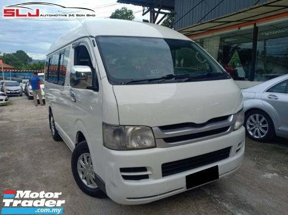 2010 TOYOTA HIACE 2.5 - FAST LOAN APPROVAL + PREMIUM CONDITION !