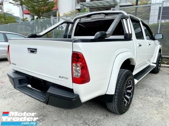 2013 ISUZU D-MAX 2.5L 4X4 DOUBLE CAB LOW MILEAGE
