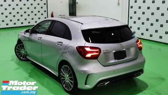 2017 MERCEDES-BENZ A-CLASS 2017 MERCEDES BENZ A180 AMG 1.6 TURBO UNREG JAPAN SPEC CAR SELLING PRICE ONLY ( RM 159000.00 NE