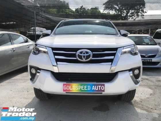 2017 TOYOTA FORTUNER 2.7 SRZ POWERED BOOT PADDLE SHIFT