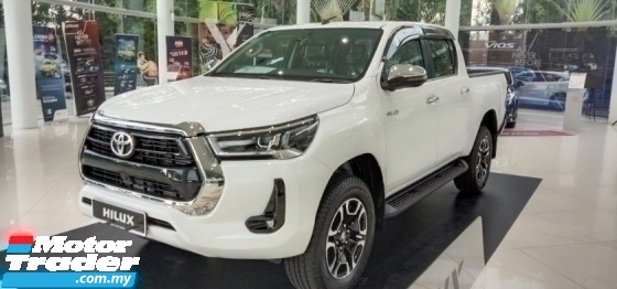 2021 TOYOTA HILUX 2.4 E(A) 4X4 DOUBLE CAB BRAND NEW FREE TAX READY STOCK