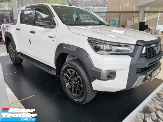 2021 TOYOTA HILUX 2.8Rogue(A) 4X4 DOUBLE CAB BRAND NEW FREE TAX READY STOCK