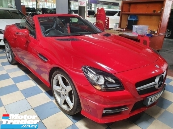 2016 MERCEDES-BENZ SLK SLK200 BLUE EFFICIENCY SPORTS