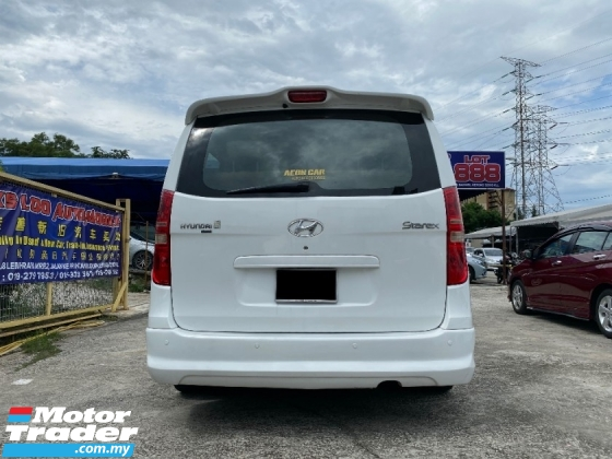 2012 HYUNDAI GRAND STAREX 2.5 MPV (A) HIGH LOAN CAN DO