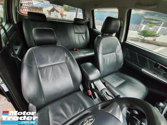 2016 TOYOTA HILUX 2016 Toyota Hilux 2.5G INTERCOOLER VNT (A) 4x4 Hight Spec