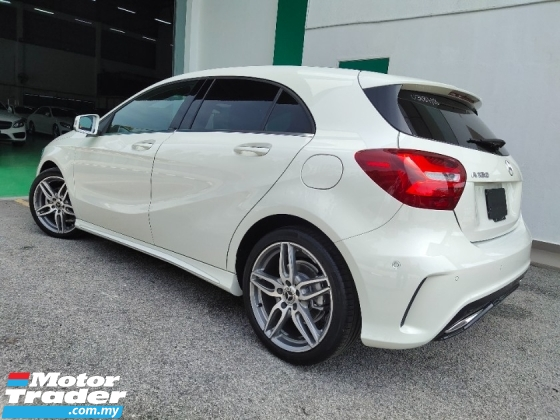 2018 MERCEDES-BENZ A-CLASS A180AMG STYLING with 5 YEARS WARRANTY
