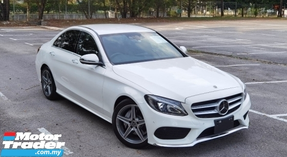 2017 MERCEDES-BENZ C-CLASS 2017 MERCEDES C180 1.6 AMG SPEC ORIGINAL FROM JAPAN UNREG CAR SELLING PRICE ( RM 188000.00 NEGO )