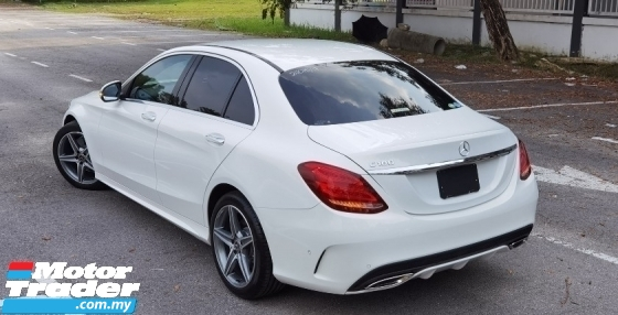 2017 MERCEDES-BENZ C-CLASS 2017 MERCEDES C180 1.6 AMG SPEC ORIGINAL FROM JAPAN UNREG CAR SELLING PRICE ( RM 185000.00 NEGO )