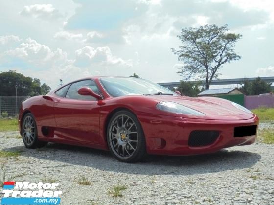 2004 FERRARI 360  MODENA 3.6 V8 F1 Coupe LikeNEW Reg.10 FSR