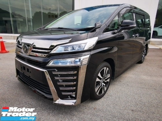 2018 TOYOTA VELLFIRE 2.5 Z G EDITION NEW MODEL - JAPAN UNREG