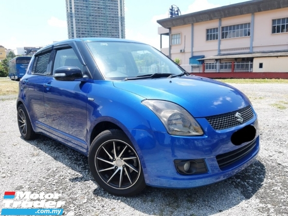 2009 SUZUKI SWIFT 1.5 (AUTO) New Paint Keyless Xlesen Loan DP3K