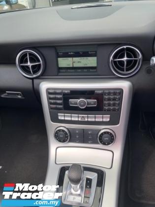 2016 MERCEDES-BENZ SLK Unreg Mercedes Benz SLK200 AMG 2.0 Convetible Top Turbo Engine Paddle Shift 7Speed