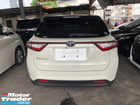 2018 TOYOTA HARRIER Unreg Toyota Harrier Facelift 2.0 360VIEW Power Boot LED Light Push Start 7G