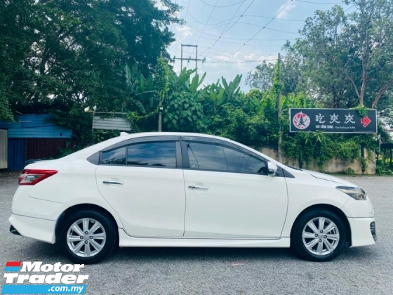 2016 TOYOTA VIOS 1.5 E AT FULL SERVICE RECORD TRD KIT LOW MILEAGE