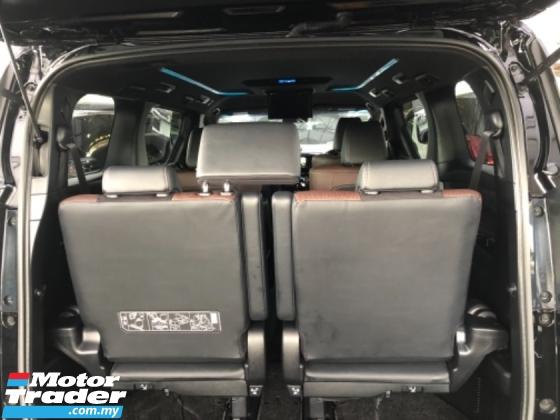 2017 TOYOTA ALPHARD Unreg Toyota Alphard 2.5 Type Black Gold 360View Camera Power Boot LED Light Leather Seats Push Star