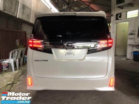 2016 TOYOTA VELLFIRE Unreg Toyota Vellfire ZG 2.5 Pilot 7seats 360view PowerBoot Sun Roof Home Theater JBL Sounds Syetem
