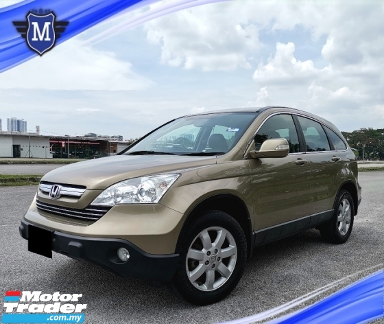 2008 HONDA CR-V 2.0 i-VTEC (A) SUV LEATHER SEAT CONDITION NICE