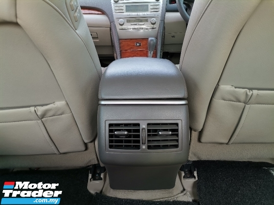 2007 TOYOTA CAMRY 2.4 V (A) POWER SEAT WELL MAINTAIN TIP TOP CONDITION