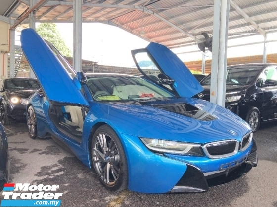 2016 BMW I8 Original Low Mileage 1.5 Turbo Full Spec 360 Surround Camera Harman Kardon Premium Head Up Display