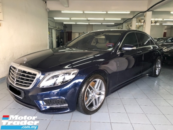 2017 MERCEDES-BENZ S-CLASS S400 AMG Line Original Ultra Low Mileage Full Service Records Fully Under Warranty by Local Mercedes