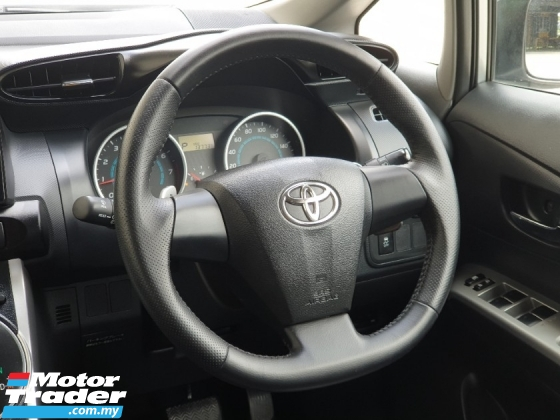 2010 TOYOTA WISH 1.8 X YEAREND OFFER FREE WARRANTY